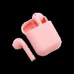 auriculares inalámbricos rosas