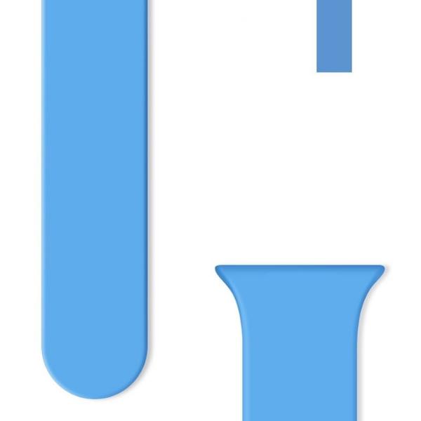 correa smartwatch azul