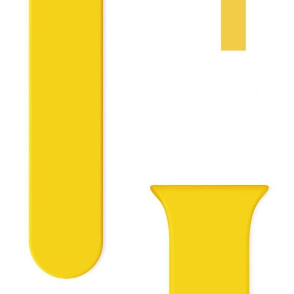 correa smartwatch amarilla